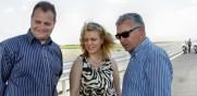 """Министър Десислава Терзиева и инж. Лазаров инспектираха лот 4.2 от АМ """"Тракия"""". Директното трасе е готово на 100%"""