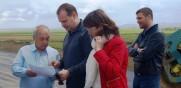 """Инж. Лазаров и министър Захариева инспектираха Лот 4.2 на АМ """"Тракия"""""""